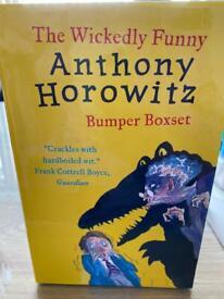 *** The wickedly funny Anthony Horowitz Bumper Box Set ***