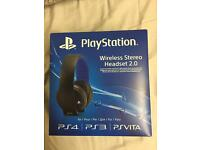 PlayStation Wireless Stere Headset 2.0
