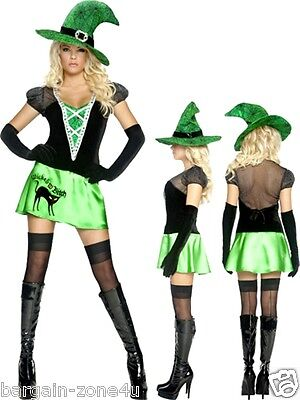 Smiffys Wicked Bitch Women Girls Fancy Dress Costume Party Halloween Clothes