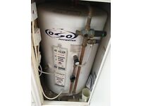125 L OSO electric water heater