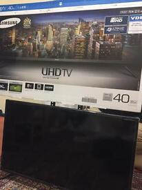 Samsung Smart TV,4K,Built in free view,40 Inch
