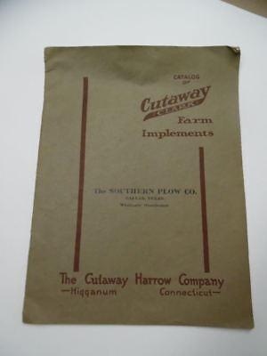 C.1930s Cutaway Harrow Clark Farm Implement Catalog Hugganum Connecticut Vintage