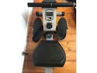 Rowing Machine White and Silver- RevXtreme RowX 2 Magnetic-Used-Great Condition.