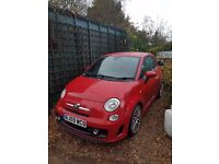 Fiat 500 abarth 2009 59 1.4 T jet, 1 previous owner , lovely car