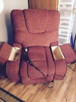 Lift/recliner chair