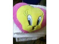 Tweety pie cushion