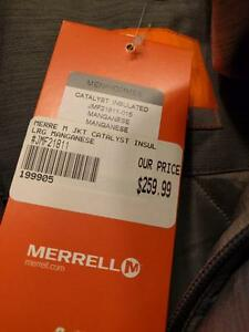Men's Merrell Large Insulated Jacket (brand new with tags) Kitchener / Waterloo Kitchener Area image 2