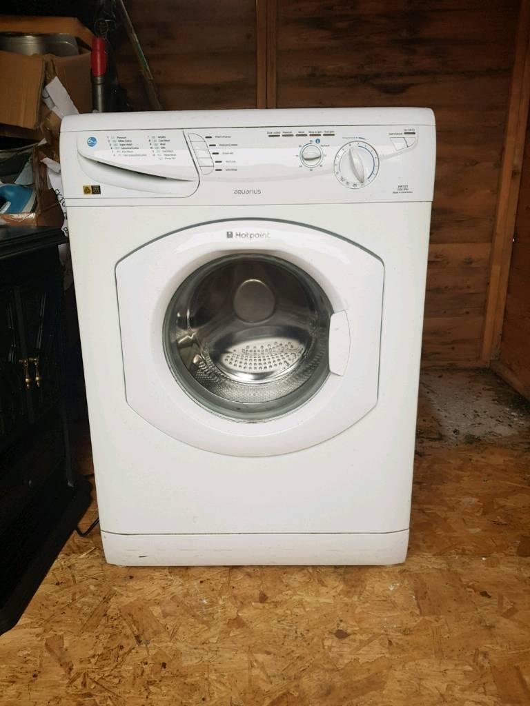 Hotpoint washing machine.