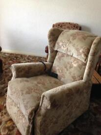 Electric Recline and Riser Armchair