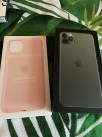iPhone 11 Pro Max & apple battery case