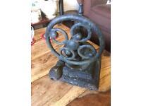 Antique cast iron coffee grinder