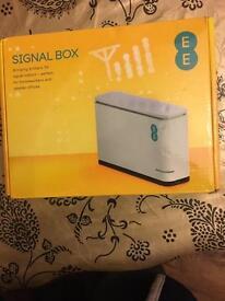 Mobile phone signal box