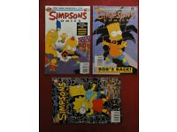 Simpsons Comics (1to20) Itchy & Scratchy, Krusty & Bartman.