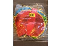 Red pop up play tent