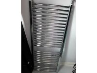 Contemporary chrome towel bathroom radiator 1280mmx 500mm **BARGAIN**
