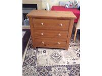 oak furniture chest of draws