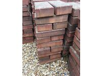 Red Garden Paving Bricks (approx 2000) Great Quality