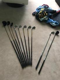 Golf clubs (kids and adults)