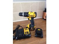 Brand new never been used 18v dewalt drill and brand new 18v Makita drill