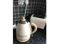 Cream toaster and kettle