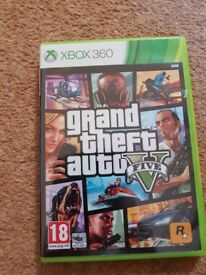 Grand Theft Auto Five (GTA5/V) XBOX 360