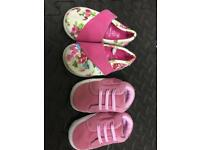 Mothercare NEW children shoes - size 2 & 3