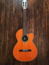 Epiphone electric Spanish / classical / acoustic guitar (nylon strings)