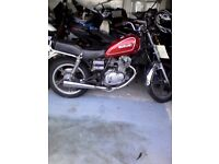 suzuki gn125 gn 125 yamaha sr125 honda cg125