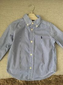 9 Ralph Lauren shirts and body warmer