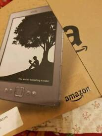 "Kindle 6"" e reader as new"