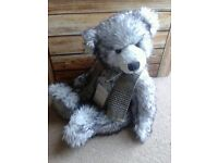 Silver tag riley. Limited Edition collectable bear