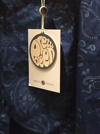 "LOVELY ""PRETTY GREEN SHIRT"" - (BNWT) SMALL SIZE"