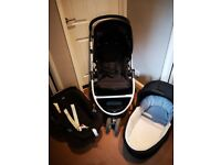 3 in 1 travel system mamma's and pappas