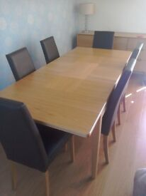 Beautiful M &S Dining Table and Chairs