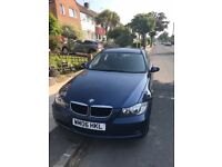 BMW 320d Touring SE, E91, (2006) 56 plate, 98.5K, Manual, FSH, Blue