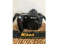 Nikon D90 DSLR body with 18-105 f3.5-5.6 & 35mm 1.8 Nikkor lenses and UV filters