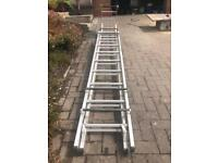 Cat ladders. 10ft extended to 18ft. As New, hardly used