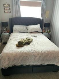 King-size bed