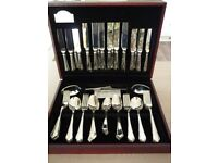 60 Piece Butler Stainless Steel Boxed Cutlery Set