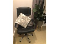 Black Soft Office Chair - Excellent Condition