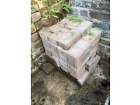 Free to collect 72 x unused Patio bricks
