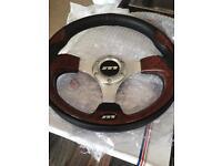 Mountney M Range car steering wheel