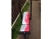 Training Bench and Weights £70 ovno