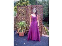 Purple Prom/Evening/Ball Dress size 10
