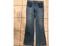 Gap jeans size 12 like new