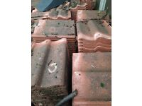 Roman reclaim roof tiles