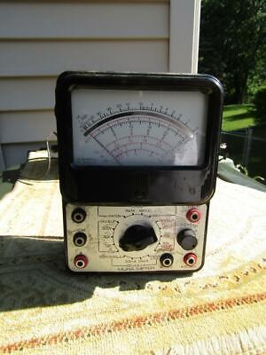 Mura Meter-multimeter Model 80m Vintage