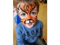 Face Painter for Children's Parties