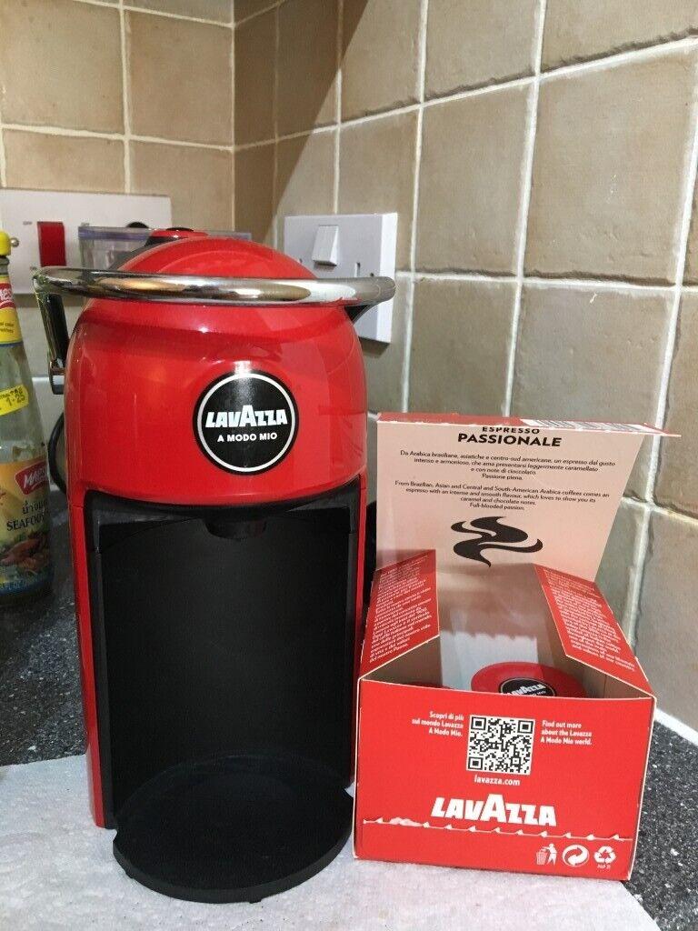 Lavazza Jolie Red Coffee Machine In Letchworth Garden City Hertfordshire Gumtree
