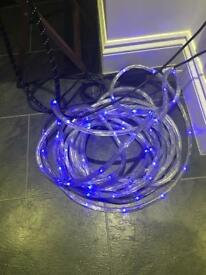Rope lights 15 mtr x2
